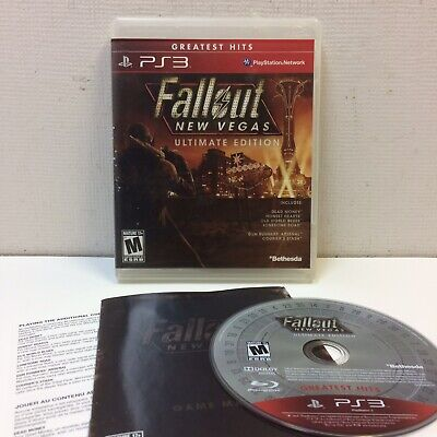 Fallout: New Vegas -- Ultimate Edition (Sony PlayStation 3, 2012) COMPLETE VGUC‼
