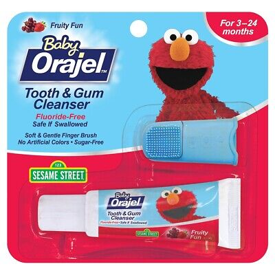 Baby Orajel Fruity Fun Tooth and Gum Cleanser - 0.7 oz