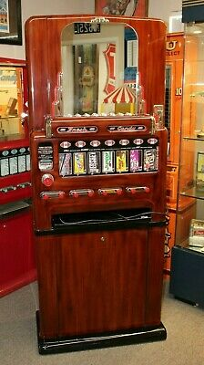 1950s Stoner Univendor Theater Candy Eight Pull Dispenser Vending Machine