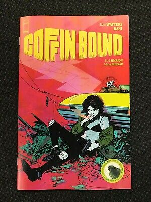 COFFIN BOUND #1 (Image, 8/19) 1ST ISSUE!! FREE SHIPPING!!! HOT!!!