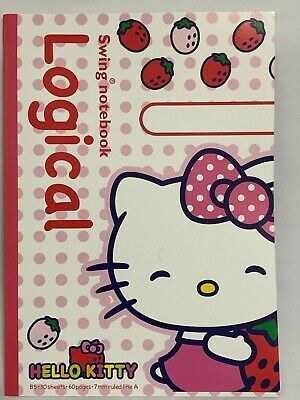 """Sanrio Characters"" series Note - HELLO KITTY - strawberry"