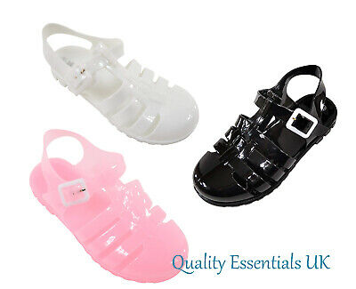 Kids Girls Childrens Summer Beach Shoes Sandals Flip Flops Jelly Shoes