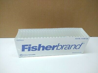 Fisherbrand Disposable Borosilicate Glass Culture Tubes 12x75mm