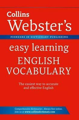 Webster's Easy Learning English Vocabulary (Collins Webster's Easy Learning), Co