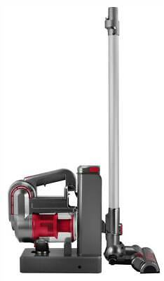 2-in-1 Cordless Cyclonic Vacuum Cleaner in Red and Silver [ID 3682923]