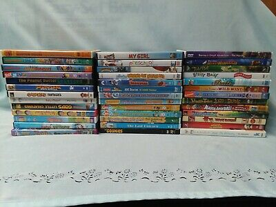 39 Lot Children's DVDs Disney Dreamworks & More! Kids Movies