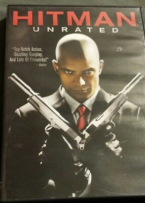 Hitman (DVD, 2009, Unrated Widescreen) previously viewed used