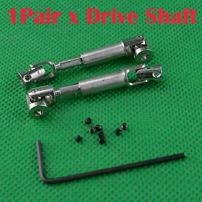 42-55mm For 1/24 Mini Climbing Car Shaft Connector Joint Axle 2098B Drive Shaft