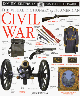 The Visual Dictionary of the American Civil War, Stanchak, John, Good Condition