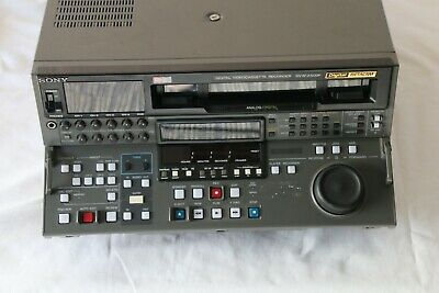 Sony DVW-A500P Digital Beta Video Cassette Recorder Player with Analog SP PB