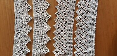 Antique Hand Crochet Edgeing For Small Cloths Craft Project