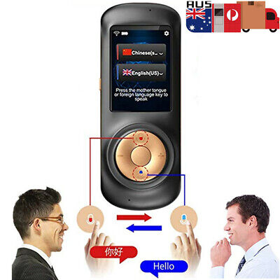 Translator Device Smart Instant Real Time Voice 70 Language Travel Business wifi