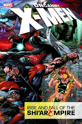 Uncanny X-Men: Rise and Fall of the Shi'ar Empire (Uncanny X-Men), Brubaker, Ed,