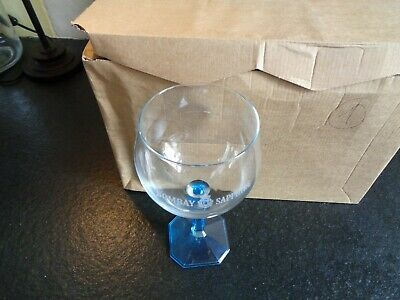 Bombay Sahire set 6 glazen glas verre 6 glasses  new in box copa balloon gin 68c