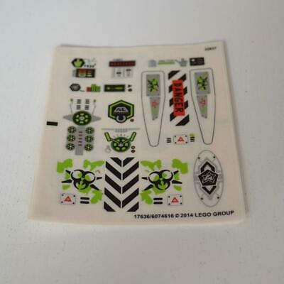 Lego New Sticker for Agents Set 70163 Radioactive Signs