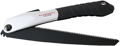 "Tajima ALOR240"" Aluminist Foldable Contractor Saw, Silver/Black, 240 mm"