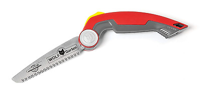 WOLF-Garten PC145FS Power Cut Folding Pruning Saw Tree Care Tool, Red, 67x3.2x3