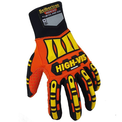 Seibertron High-Vis Resistant Reducing Anti-Impact Mechanics Heavy Duty Safety L