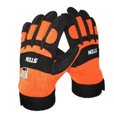 Stein Chainsaw Protective Gloves For Arborists or DIY users LARGE