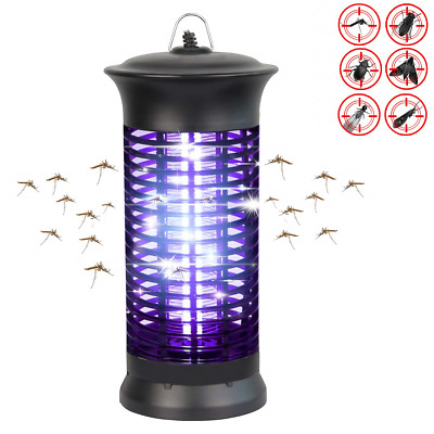 Loowoko Insect Killer, Mosquito Lamp UV Insect Bug Zapper Catcher Fly Trap Anti