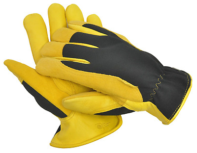 Gold Leaf Gents Winter Touch Gardening Gloves