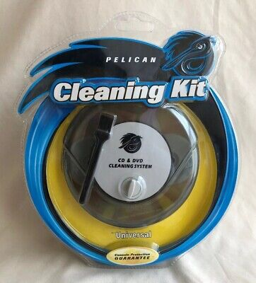 New, Sealed: Pelican Universal CD DVD Lens Cleaning System/ Cleaning Kit PL-921