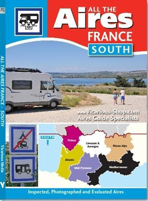 All the Aires France South 2015, Vicarious Media, Good Condition Book, ISBN 9781
