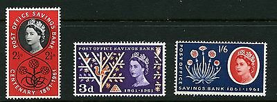GB 1961 Commemorative Stamps~POSB~Unmounted Mint Set~UK Seller