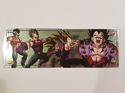 Carte Dragon Ball Z Special Vegeta 4 Original Laser Prism puzzle