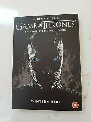 """Game of Thrones, complete Season 7 """"Winter is here"""" (DVD,2017)"""