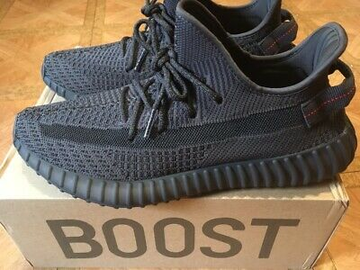 ADIDAS YEEZY BOOST 350 V2 Triple Black Static Non Reflective