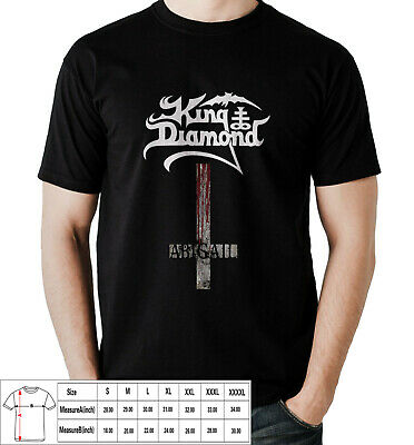 KING DIAMOND ABIGAIL HEAVY ROCK BAND Mens T-shirt USA Size S,M,L,XL,2XL,3XL,4XL
