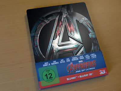 Marvel The Avengers 2: Age of Ultron Limited Edition Steelbook [3D + 2D Blu-ray]