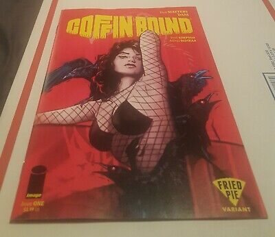 Coffin Bound #1 (Image), Fried Pie Variant Tula Lotay Cover  Hot 🔥🔥🔥🔥