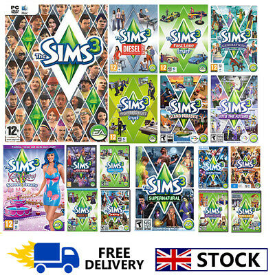 THE SIMS 3 ALL Expansion Origin Global PC Key - £3 43