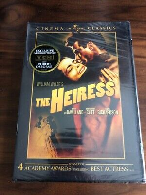 The Heiress (DVD, 2007, Universal Cinema Classics) (Brand New & Sealed!)