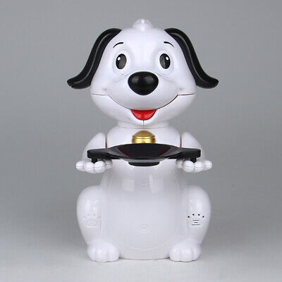 Cute White Puppy Piggy Bank Electronic Automatic Save Coin Money Box Child Toy