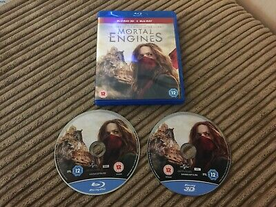 MORTAL ENGINES BLU-RAY DVD [Blu-ray] [2018] - WATCHED ONCE
