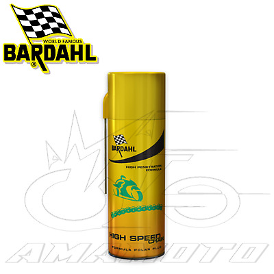 Grasso Lubrificante Spray Catena - Bardahl High Speed Chain 400Ml Chain Lube