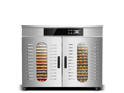 Bench Foods 32H-CUD Dual-Zone Digital Commercial Food Dehydrator | 32 Tray