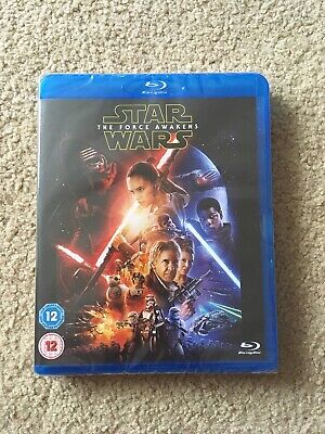 Star Wars The Force Awakens - Harrison Ford - Blu Ray - NEW SEALED