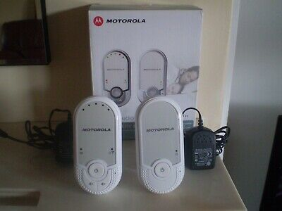 MOTOROLA Digital Audio Baby Monitor MBP 11 Boxed,New Rechareable Battery Fitted