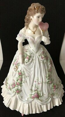 Royal Worcester Ltd Edition Queen Of Hearts Handpainted Bone China Figurine