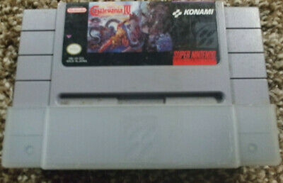 Super Castlevania IV 4 Super Nintendo SNES tested/works Authentic FREE SHIPPING!