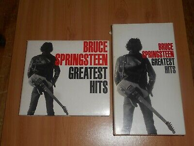 Bruce Springsteen Greatest Hits Rare Promotional Digipack CD & VHS Tape 1995