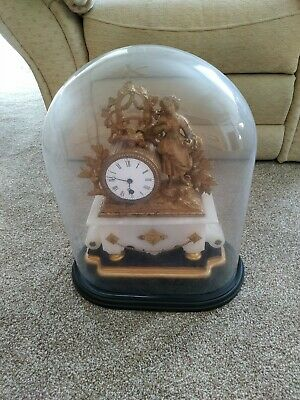 Exceptionally RARE French Antique Domed Table Clock Circa 1890 approx.