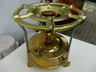 Vintage Unused (Old Stock) New in Box Brass Stove Vacuum Sunflower Oil Petrolium