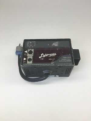 Lightronics AS-41 4x1.2kw stage control auto-sync dimmer