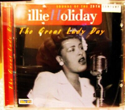 BILLIE HOLLIDAY Great Lady Day Jazz CD ( DISC 1) 20 TRACKS  FAST FREE POST UK
