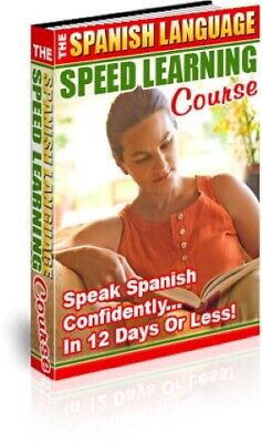 Spanish Learning Course Learn to Speak Spanish in 12 Days on CD Ebook pdf audio